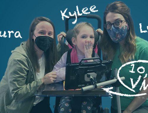 Rehadapt feiert die 10.000steVMS. Eine Erfolgsgeschichte mitLynsey, Laura und Kylee.