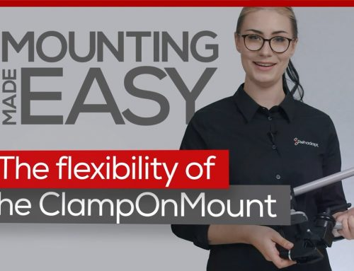 The flexibility of the ClampOnMount