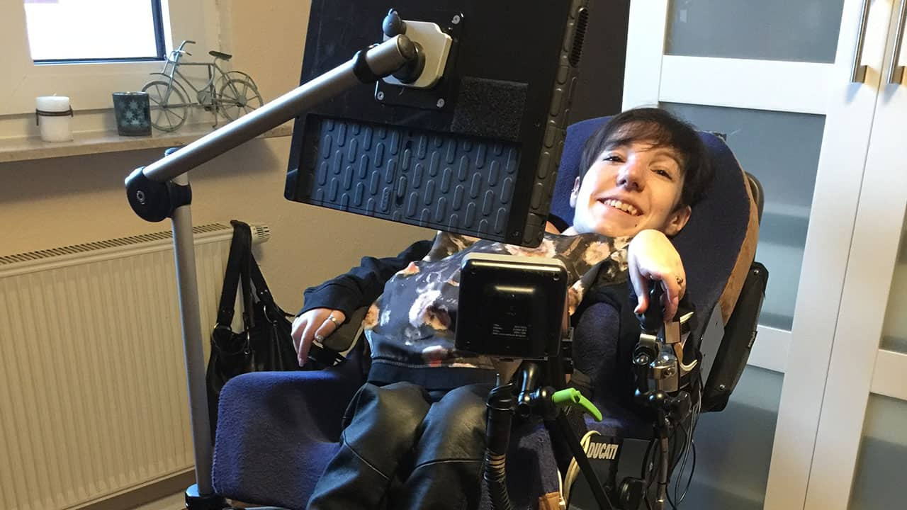 With our wheelchair mounts, we will mount your communication device, switch or control so that it is secured and perfectly positioned for you to use.