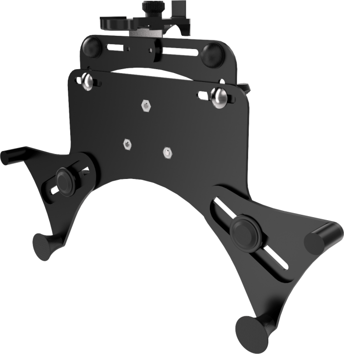 Universal mount for tablets like Apple iPad and Samsung Galaxy