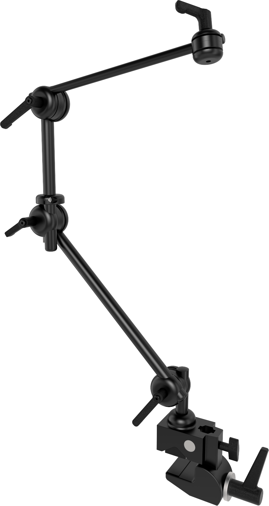 Light 3D table mount with three tubes and a clamp, by Rehadapt.
