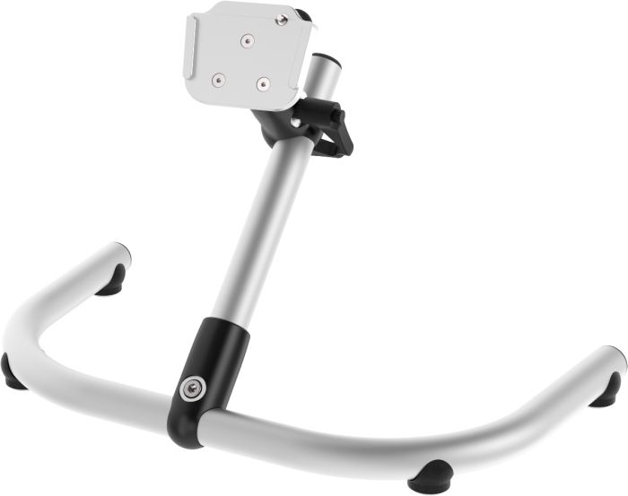 Table mount for AAC devices, tablets and more, by Rehadapt
