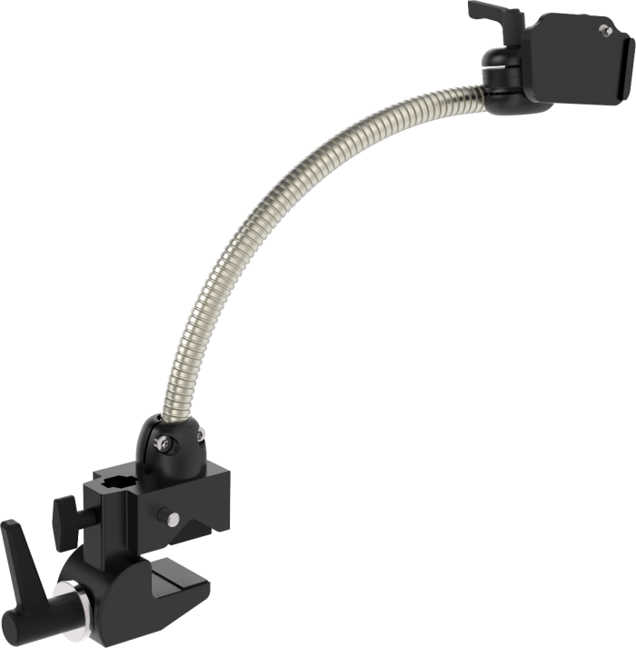 Flexible table clamp mount for AAC devices, tablets and more, by Rehadapt